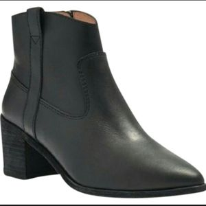 Madewell Pull-Loop Leather Boots